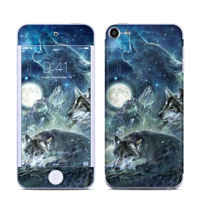 Apple iPod Touch 6G Skin - Bark At The Moon
