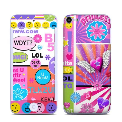 Apple iPod Touch 6G Skin - BFF Girl Talk