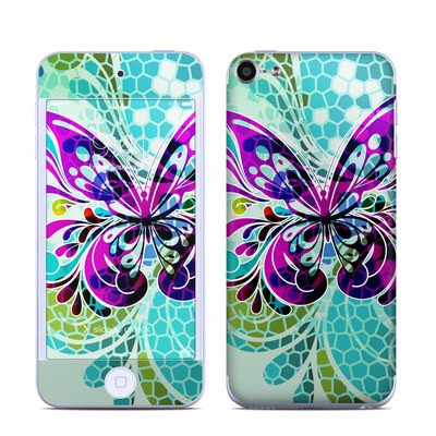 Apple iPod Touch 6G Skin - Butterfly Glass