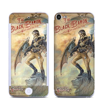 Apple iPod Touch 6G Skin - The Black Baron