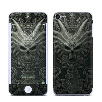 Apple iPod Touch 6G Skin - Black Book