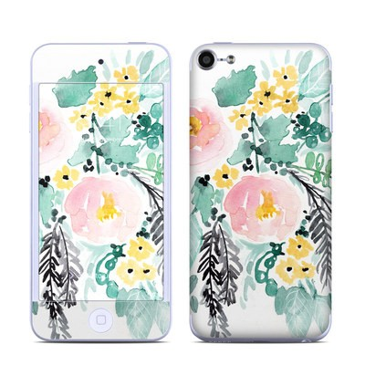 Apple iPod Touch 6G Skin - Blushed Flowers