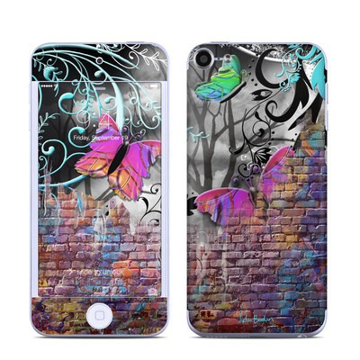 Apple iPod Touch 6G Skin - Butterfly Wall