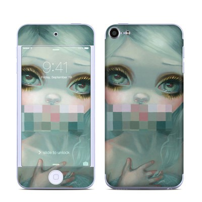 Apple iPod Touch 6G Skin - Censored Smile