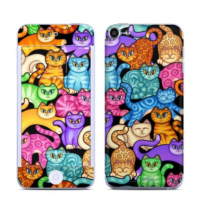 Apple iPod Touch 6G Skin - Colorful Kittens
