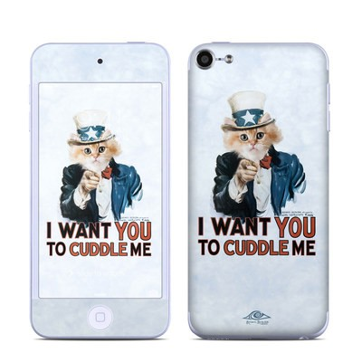 Apple iPod Touch 6G Skin - Cuddle Me