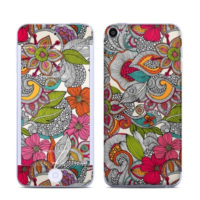 Apple iPod Touch 6G Skin - Doodles Color
