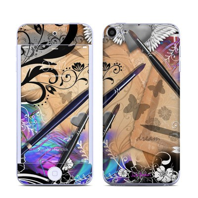 Apple iPod Touch 6G Skin - Dream Flowers
