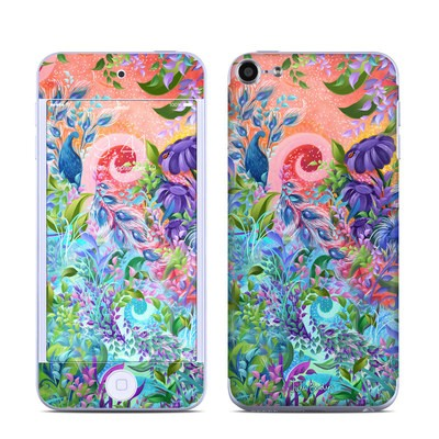 Apple iPod Touch 6G Skin - Fantasy Garden
