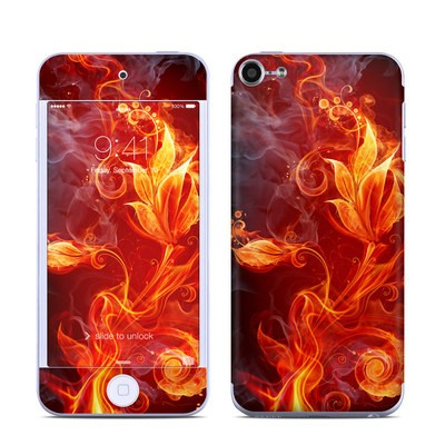 Apple iPod Touch 6G Skin - Flower Of Fire