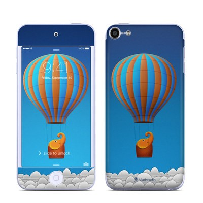Apple iPod Touch 6G Skin - Flying Elephant