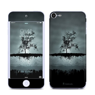 Apple iPod Touch 6G Skin - Flying Tree Black