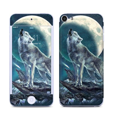 Apple iPod Touch 6G Skin - Howling Moon Soloist