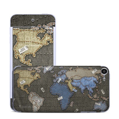 Apple iPod Touch 6G Skin - Jean Map