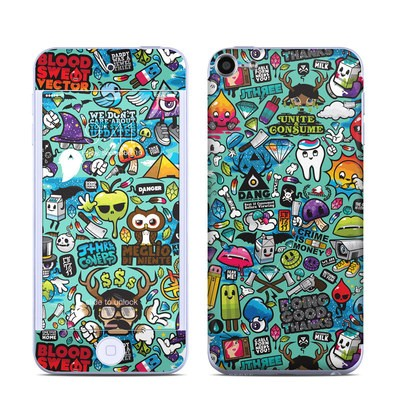 Apple iPod Touch 6G Skin - Jewel Thief