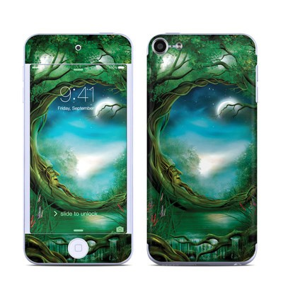 Apple iPod Touch 6G Skin - Moon Tree