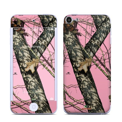 Apple iPod Touch 6G Skin - Break-Up Pink