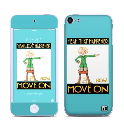 Apple iPod Touch 6G Skin - Move On