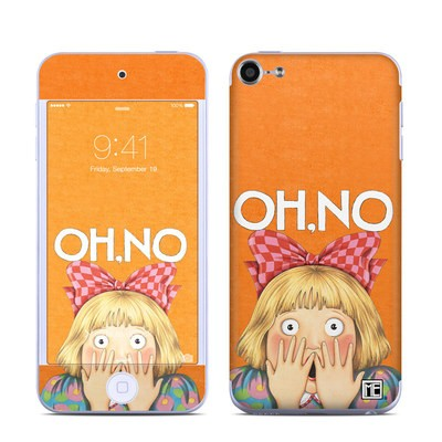 Apple iPod Touch 6G Skin - Oh No