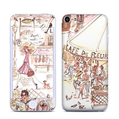 Apple iPod Touch 6G Skin - Paris Makes Me Happy