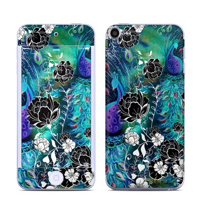 Apple iPod Touch 6G Skin - Peacock Garden