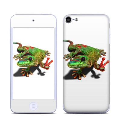 Apple iPod Touch 6G Skin - Peace Gecko