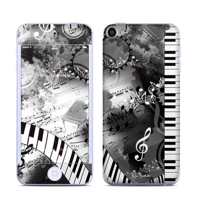 Apple iPod Touch 6G Skin - Piano Pizazz