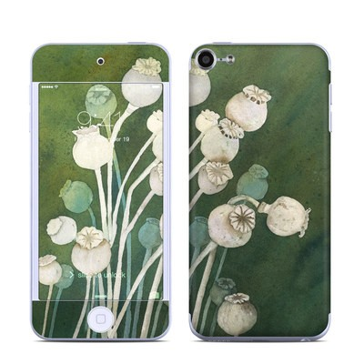Apple iPod Touch 6G Skin - Poppy Pods