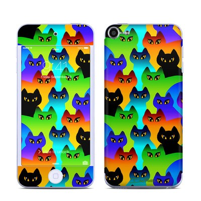 Apple iPod Touch 6G Skin - Rainbow Cats