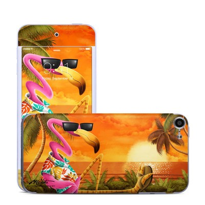 Apple iPod Touch 6G Skin - Sunset Flamingo