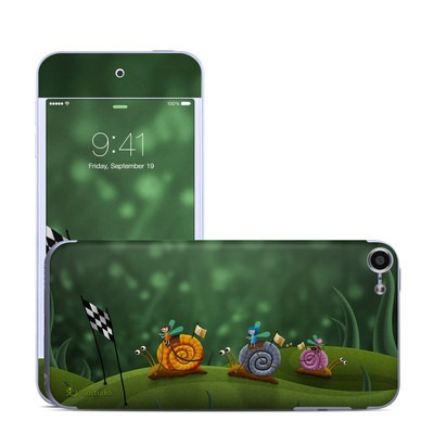 Apple iPod Touch 6G Skin - Snail Race