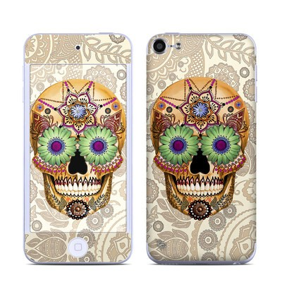 Apple iPod Touch 6G Skin - Sugar Skull Bone