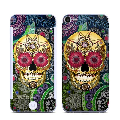 Apple iPod Touch 6G Skin - Sugar Skull Paisley