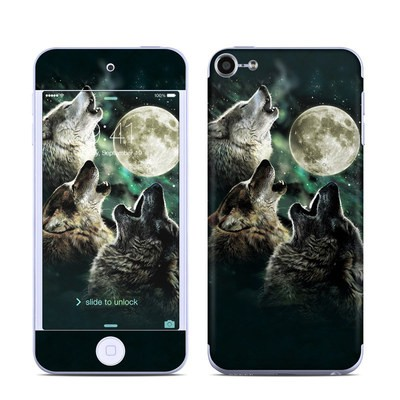 Apple iPod Touch 6G Skin - Three Wolf Moon