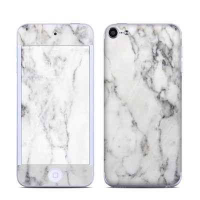 Apple iPod Touch 6G Skin - White Marble