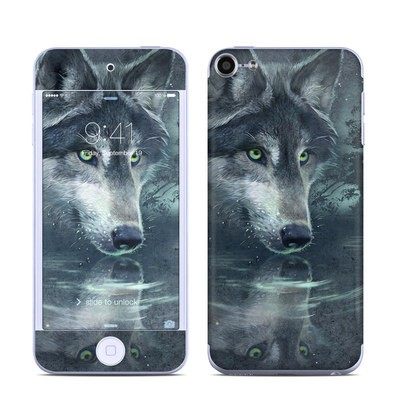 Apple iPod Touch 6G Skin - Wolf Reflection