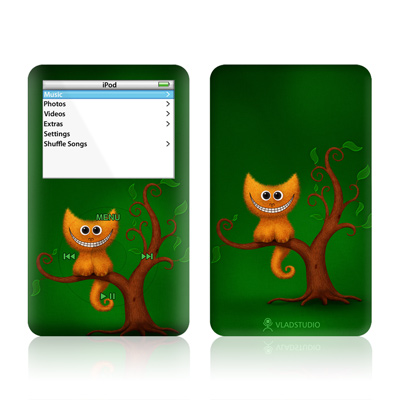 iPod Video (5G) Skin - Cheshire Kitten