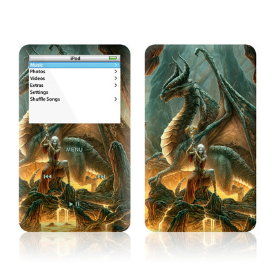 iPod Video (5G) Skin - Dragon Mage