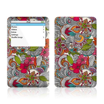 iPod Video (5G) Skin - Doodles Color
