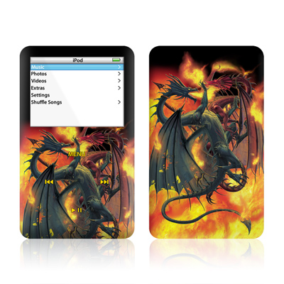 iPod Video (5G) Skin - Dragon Wars