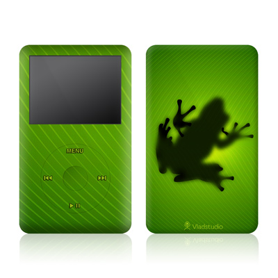 iPod Video (5G) Skin - Frog