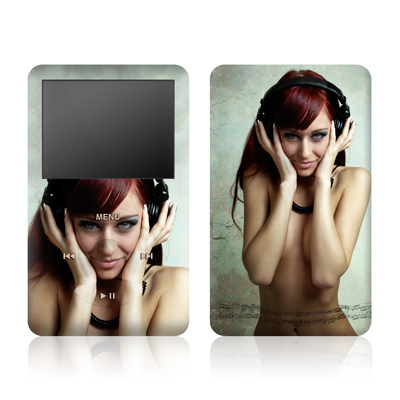 iPod Video (5G) Skin - Headphones