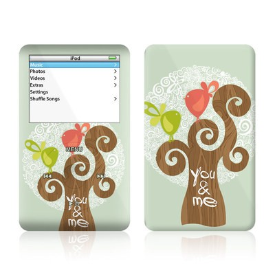 iPod Video (5G) Skin - Two Little Birds