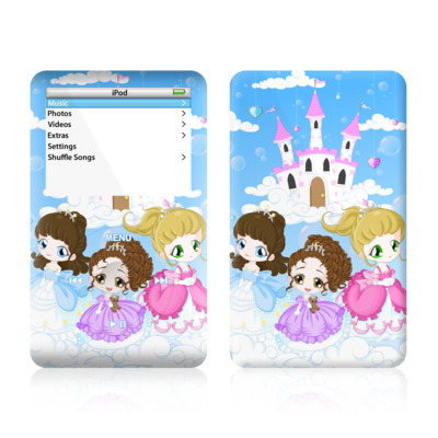 iPod Video (5G) Skin - Little Princesses