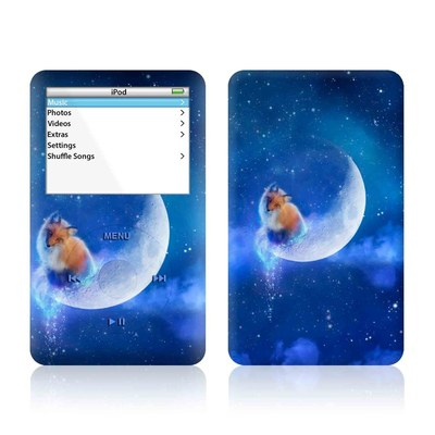iPod Video (5G) Skin - Moon Fox