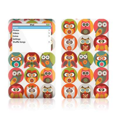 iPod Video (5G) Skin - Owls Family