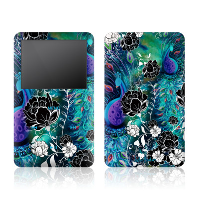 iPod Video (5G) Skin - Peacock Garden