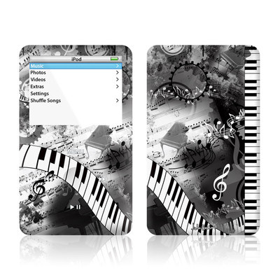 iPod Video (5G) Skin - Piano Pizazz