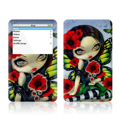 iPod Video (5G) Skin - Poppy Magic