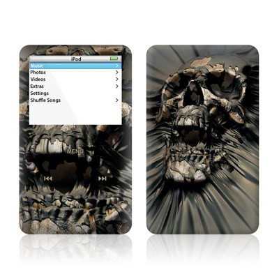 iPod Video (5G) Skin - Skull Wrap